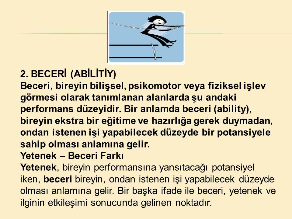 2. BECERİ (ABİLİTİY)