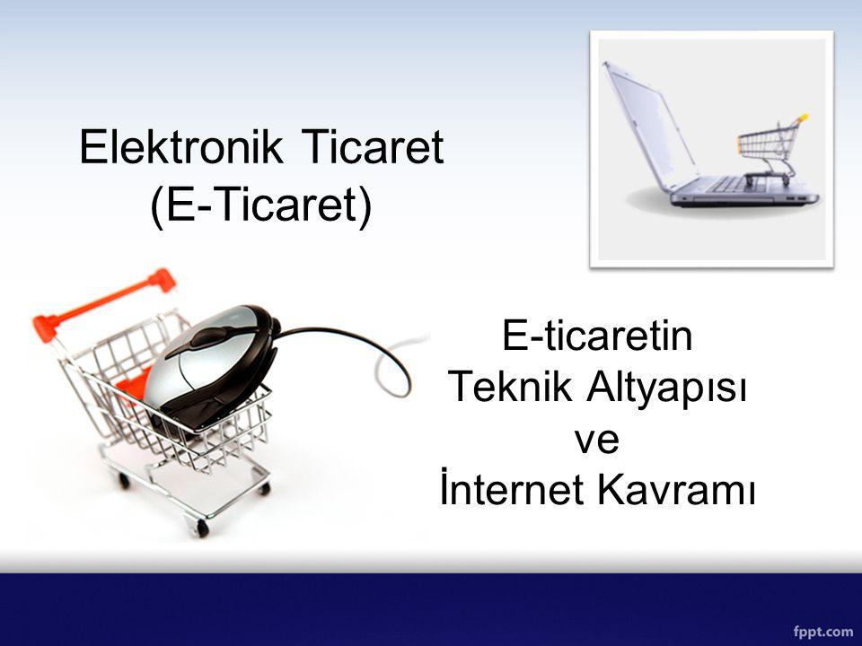 E-ticaretin Teknik Altyapısı ve İnternet Kavramı