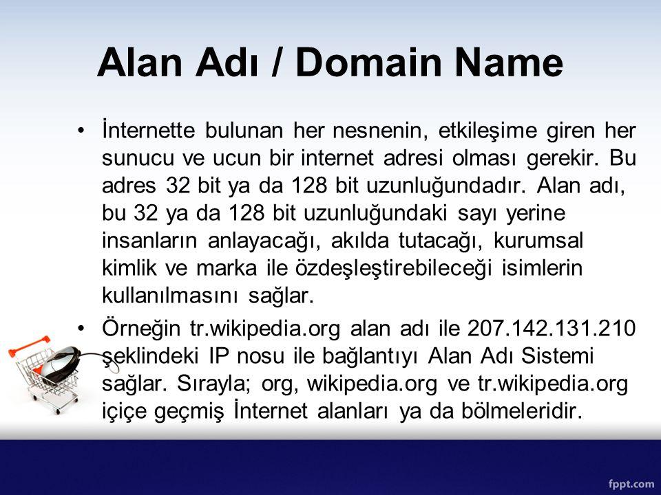Alan Adı / Domain Name