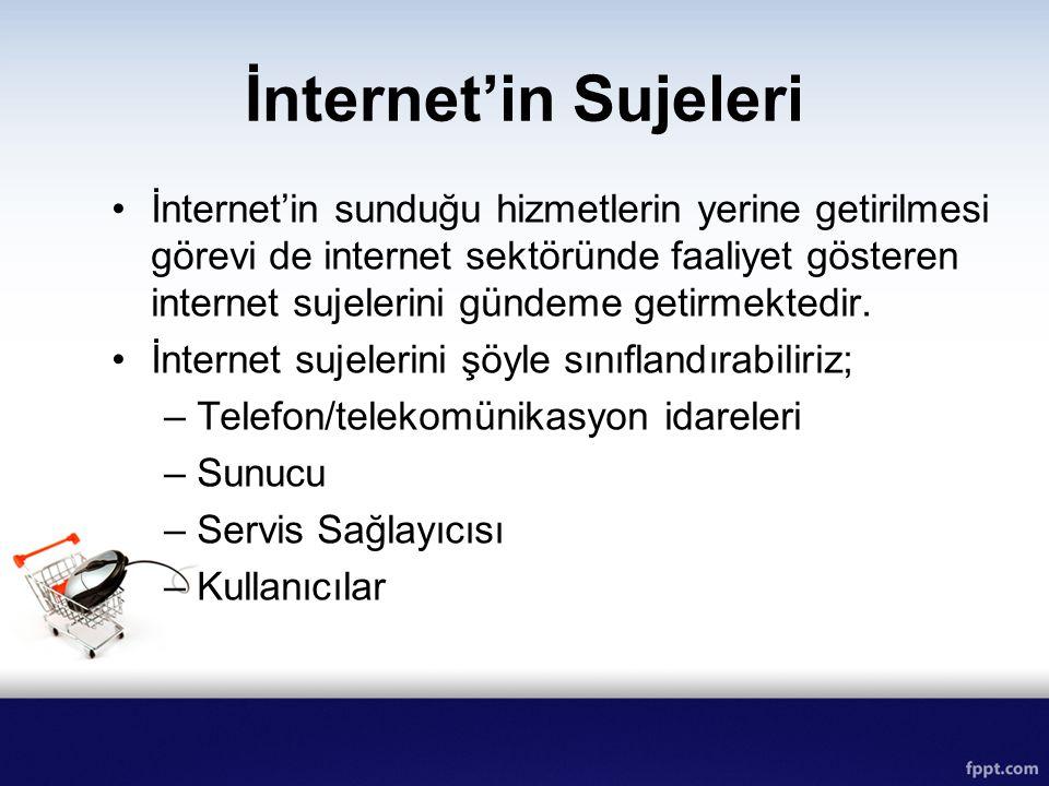 İnternet'in Sujeleri