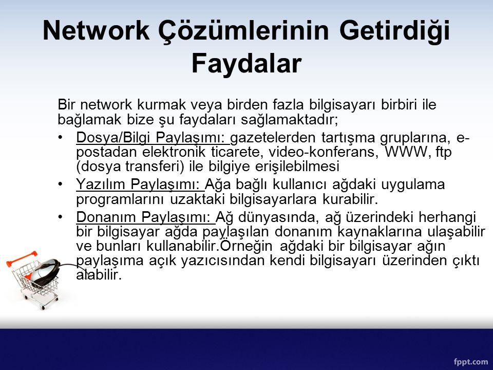 Network Çözümlerinin Getirdiği Faydalar