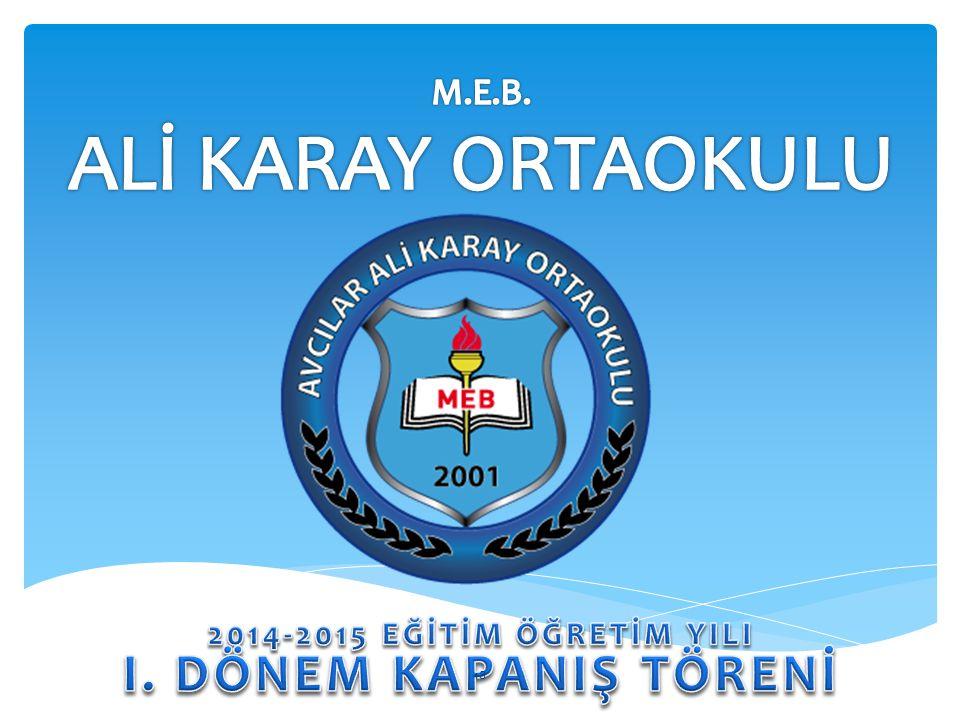M.E.B. ALİ KARAY ORTAOKULU