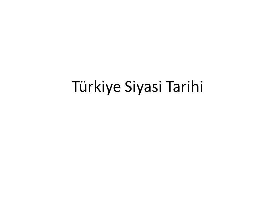 Türkiye Siyasi Tarihi