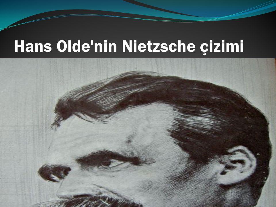 Hans Olde nin Nietzsche çizimi