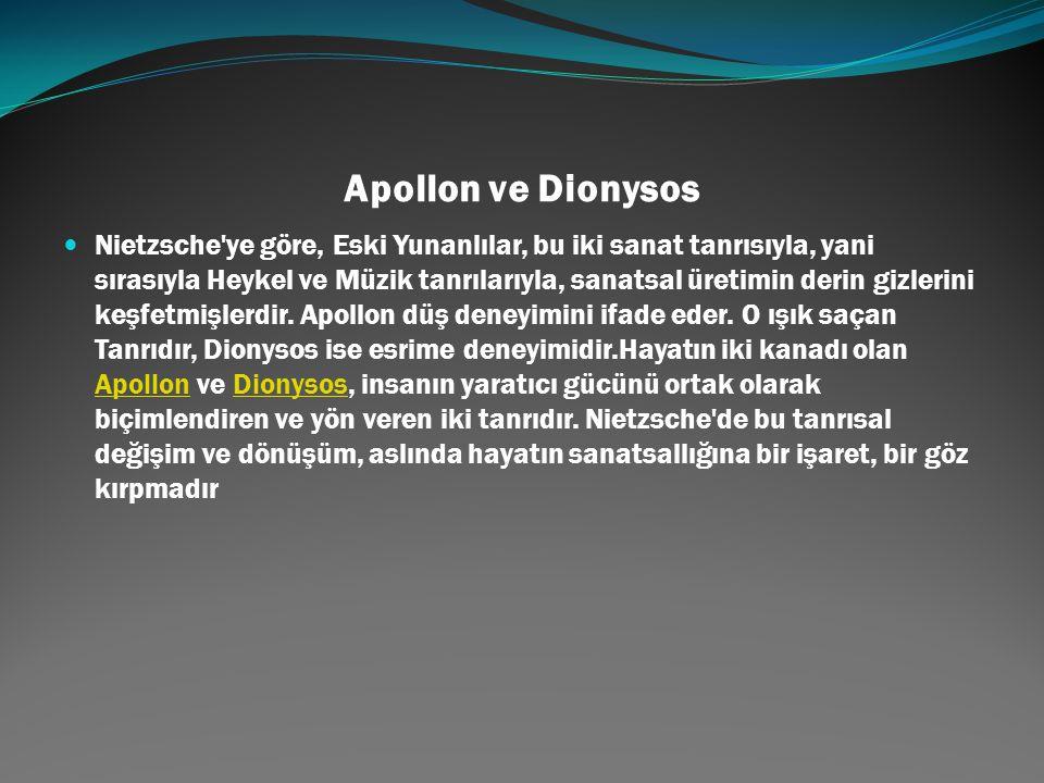 Apollon ve Dionysos