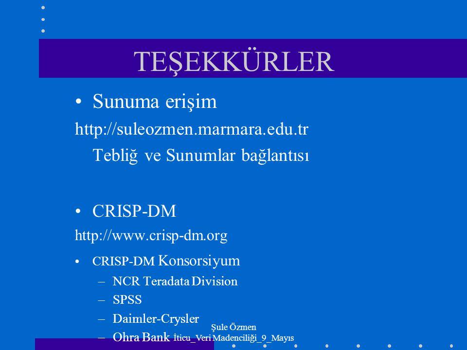 Şule Özmen İticu_Veri Madenciliği_9_Mayıs