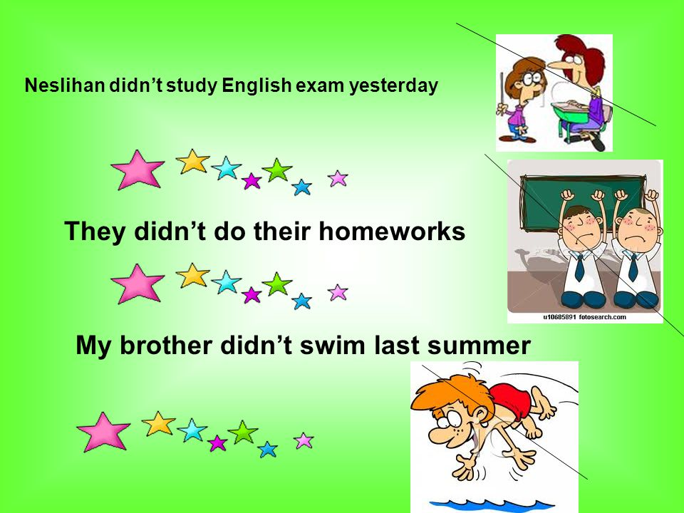 They didn't do their homeworks