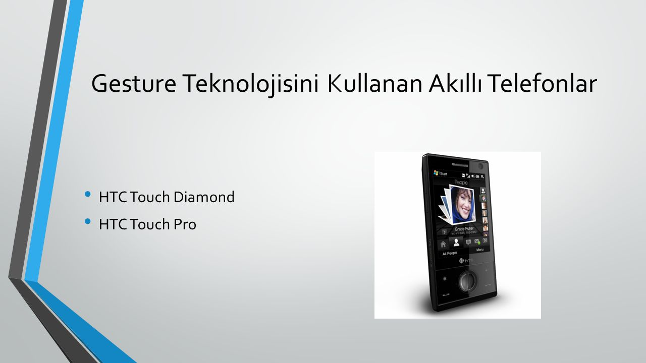 Gesture Teknolojisini Kullanan Akıllı Telefonlar