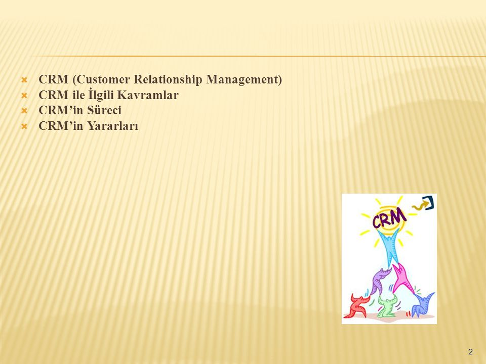 CRM (Customer Relationship Management)