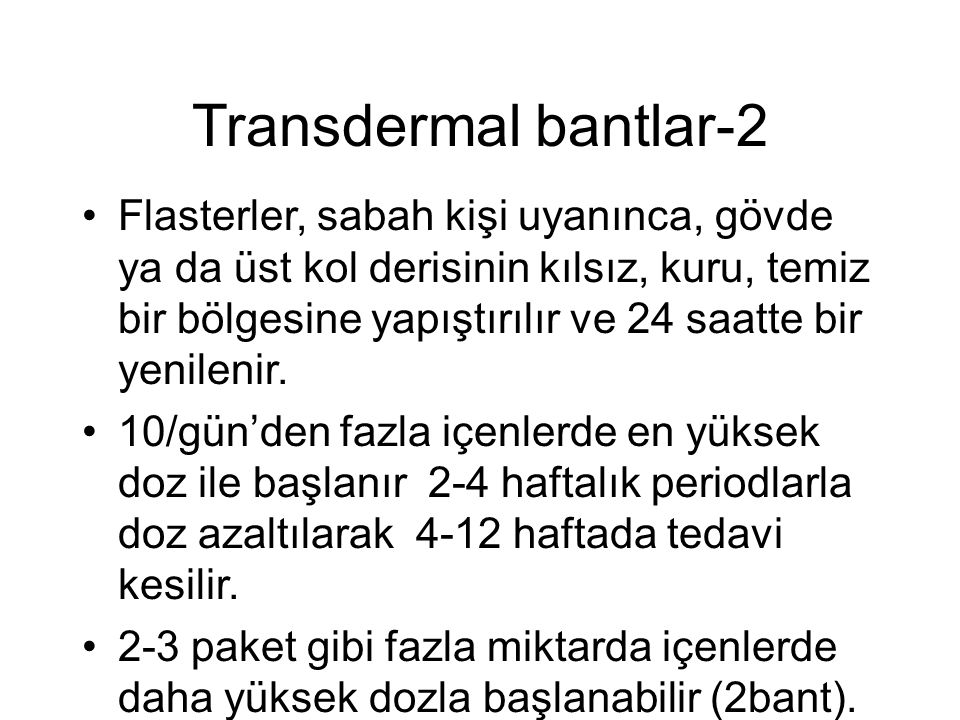 Transdermal bantlar-2