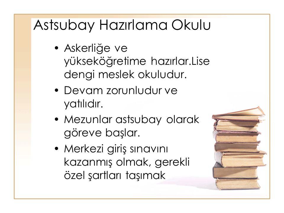 Astsubay Hazırlama Okulu