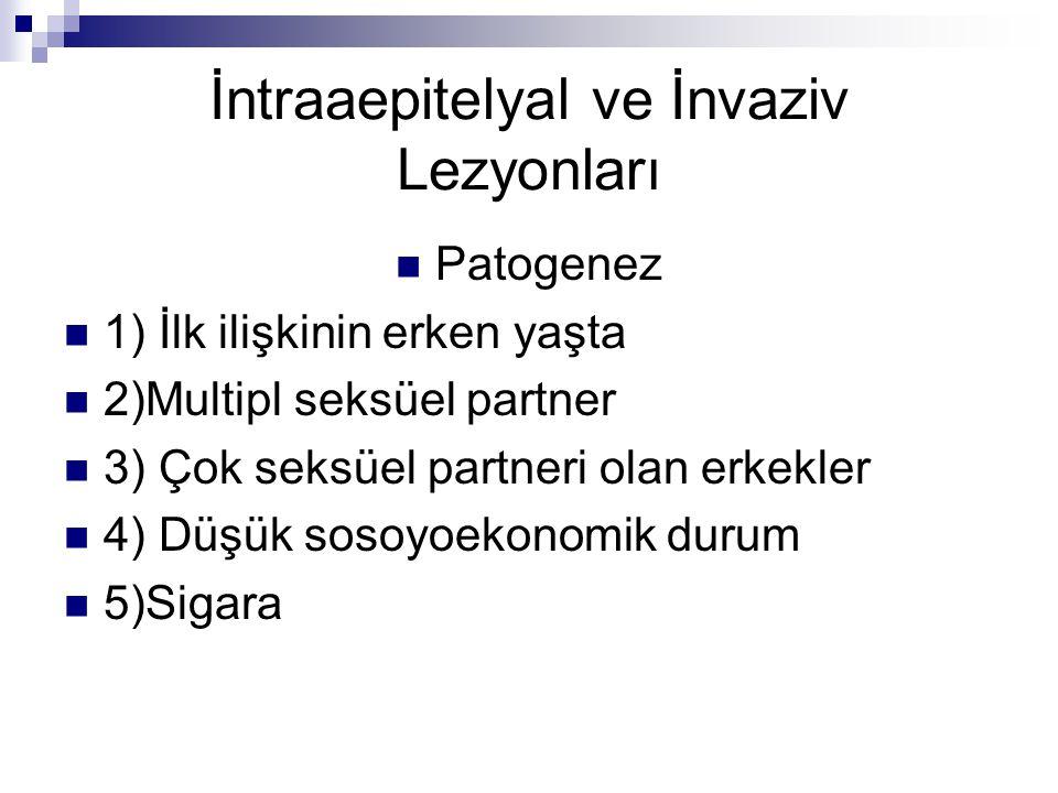 İntraaepitelyal ve İnvaziv Lezyonları