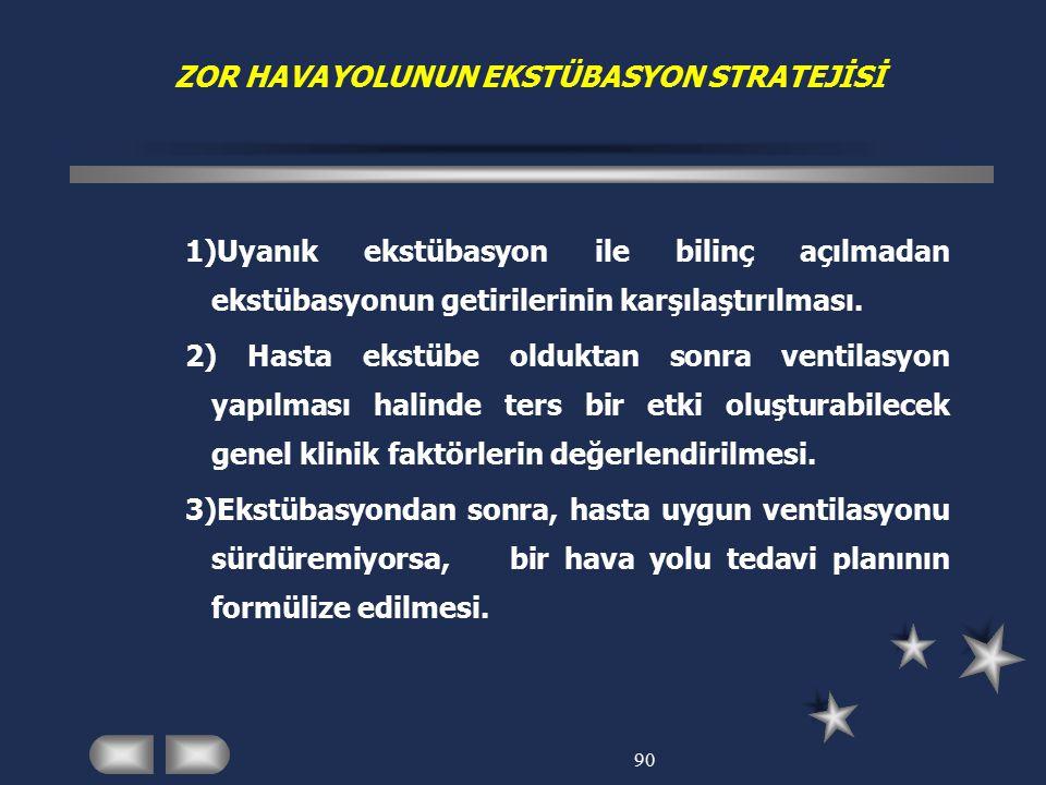 ZOR HAVAYOLUNUN EKSTÜBASYON STRATEJİSİ