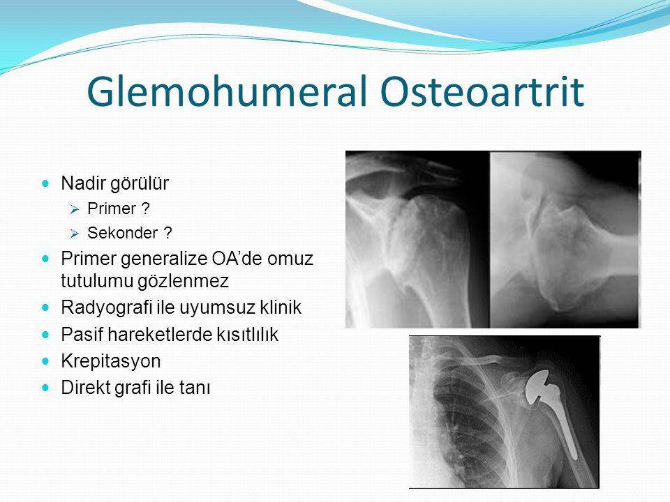 Glemohumeral Osteoartrit