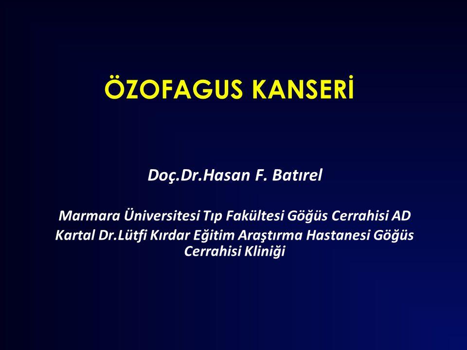 Marmara Üniversitesi Tıp Fakültesi Göğüs Cerrahisi AD
