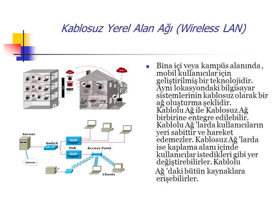 Kablosuz Yerel Alan Ağı (Wireless LAN)