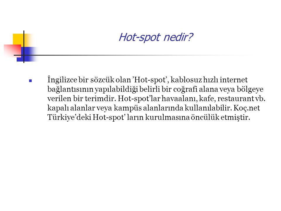 Hot-spot nedir