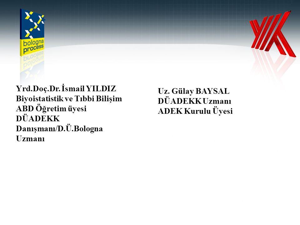 Yrd.Doç.Dr. İsmail YILDIZ