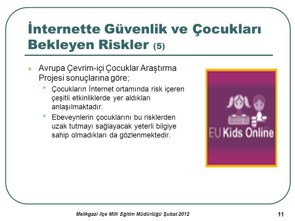 İnternette Güvenlik ve Çocukları Bekleyen Riskler (5)
