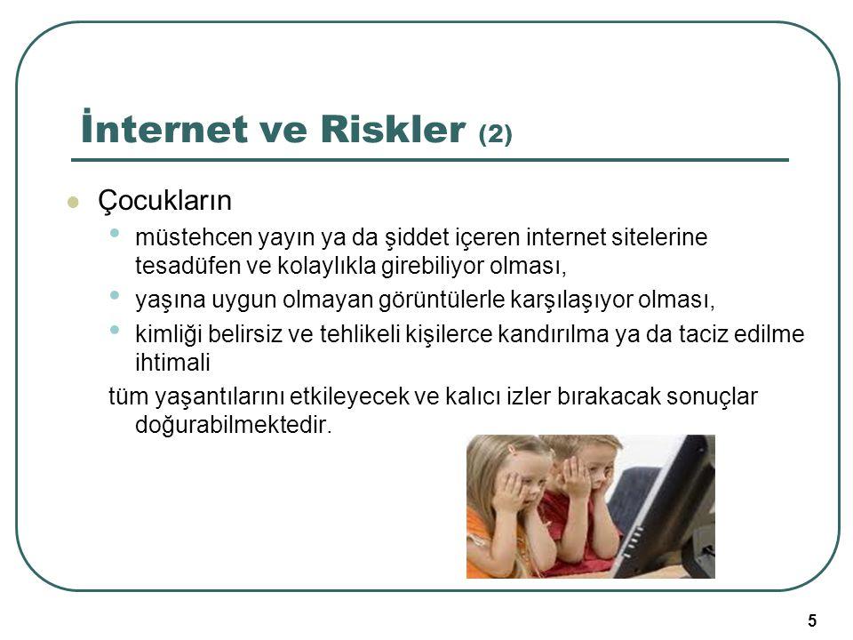 İnternet ve Riskler (2) Çocukların