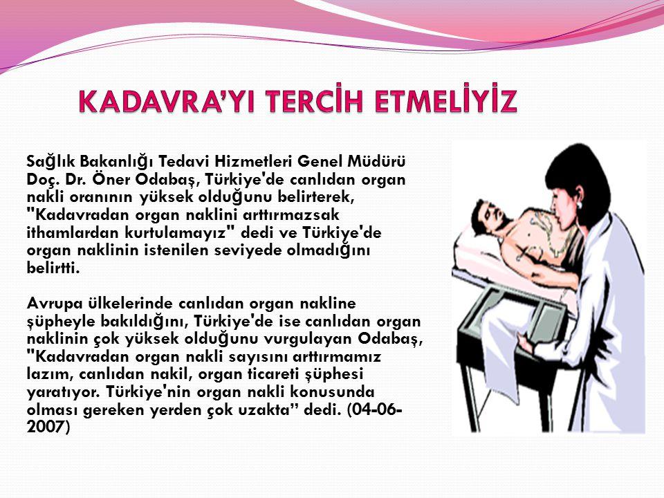 KADAVRA'YI TERCİH ETMELİYİZ