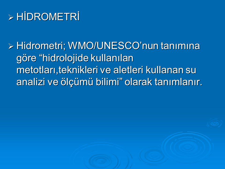 HİDROMETRİ