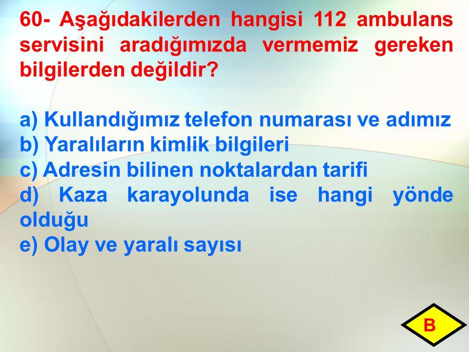 a) Kullandığımız telefon numarası ve adımız