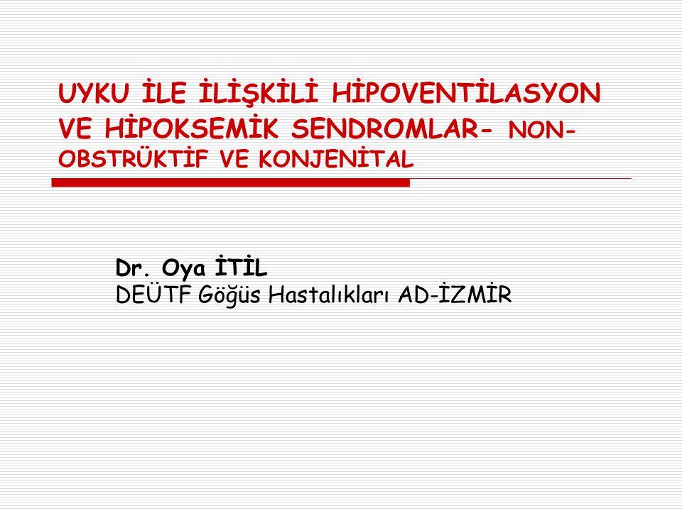 Dr. Oya İTİL DEÜTF Göğüs Hastalıkları AD-İZMİR