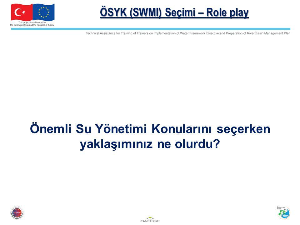ÖSYK (SWMI) Seçimi – Role play