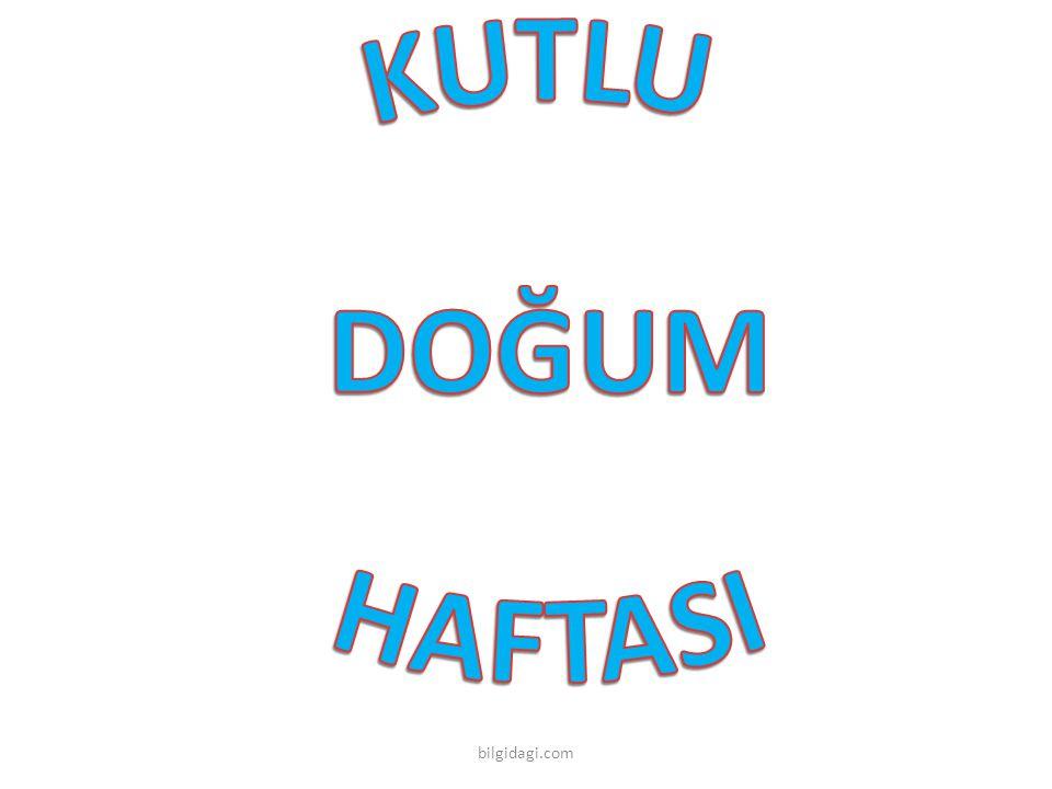 KUTLU DOĞUM HAFTASI bilgidagi.com