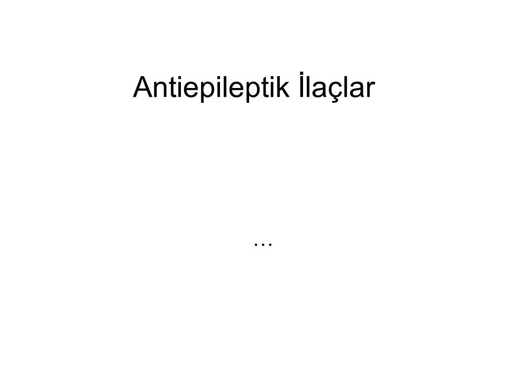 Antiepileptik İlaçlar