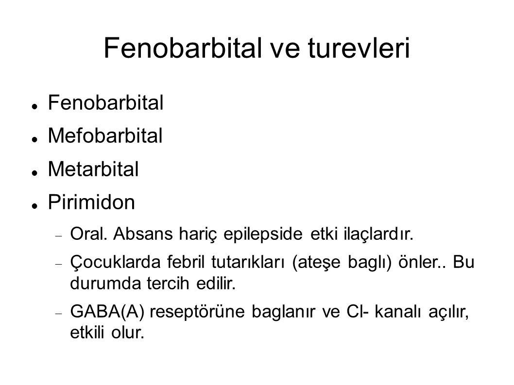 Fenobarbital ve turevleri