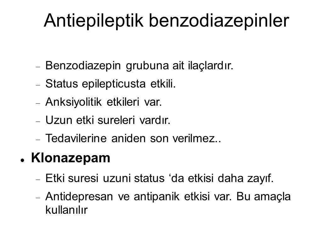 Antiepileptik benzodiazepinler