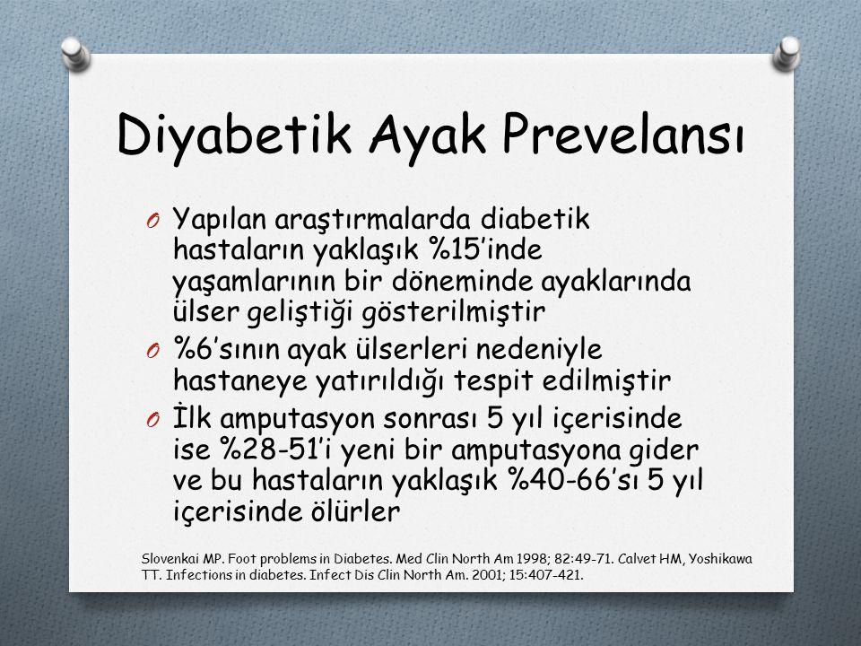Diyabetik Ayak Prevelansı