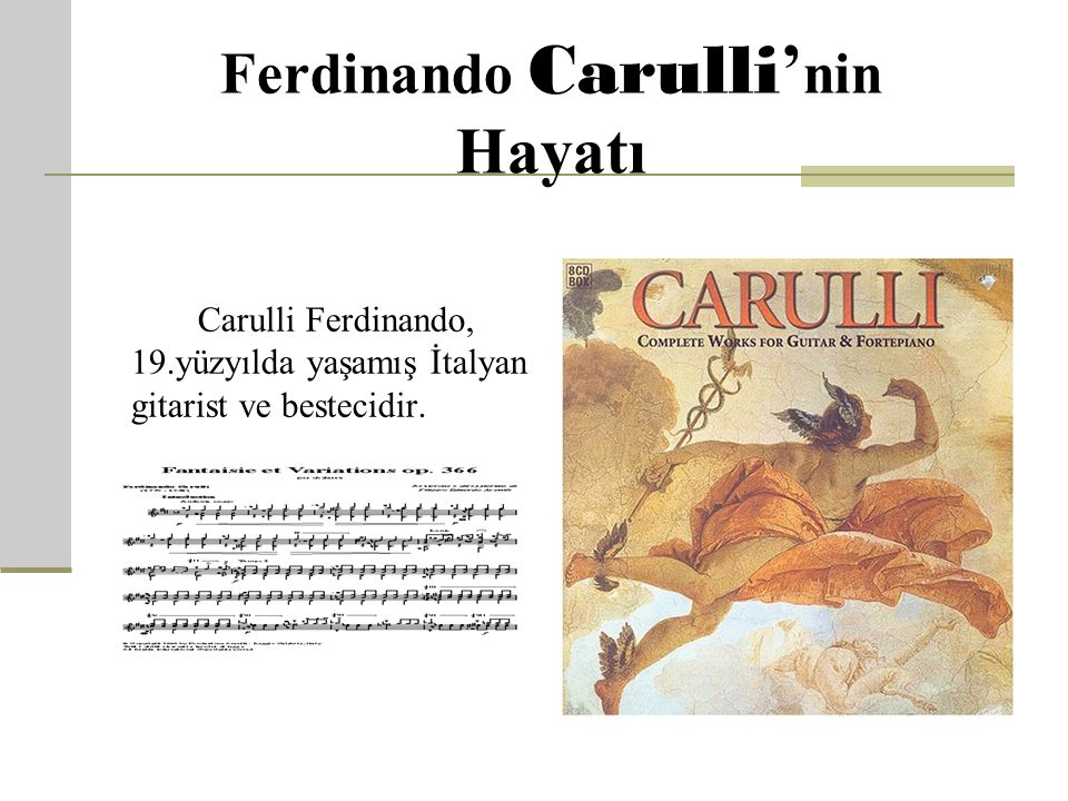Ferdinando Carulli'nin Hayatı