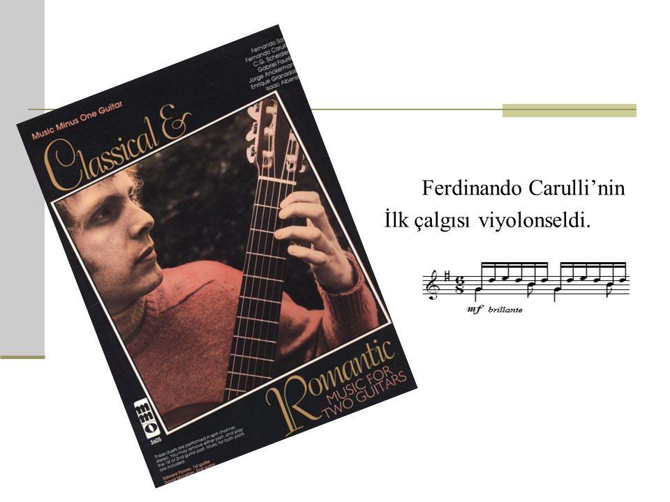 Ferdinando Carulli'nin