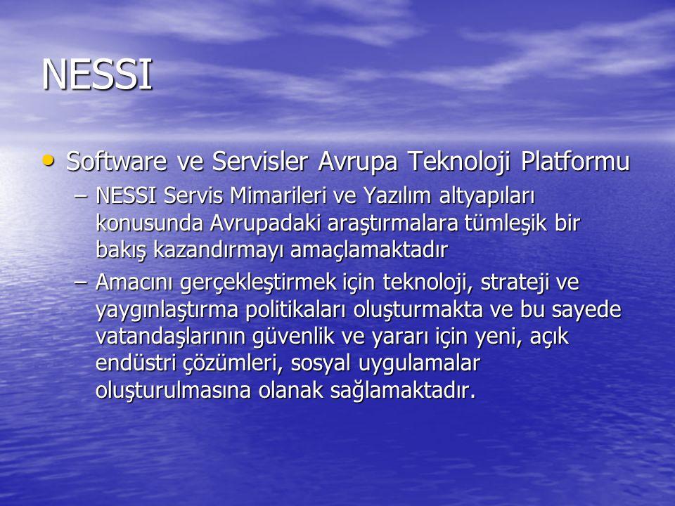 NESSI Software ve Servisler Avrupa Teknoloji Platformu
