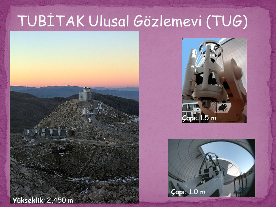 TUBİTAK Ulusal Gözlemevi (TUG)