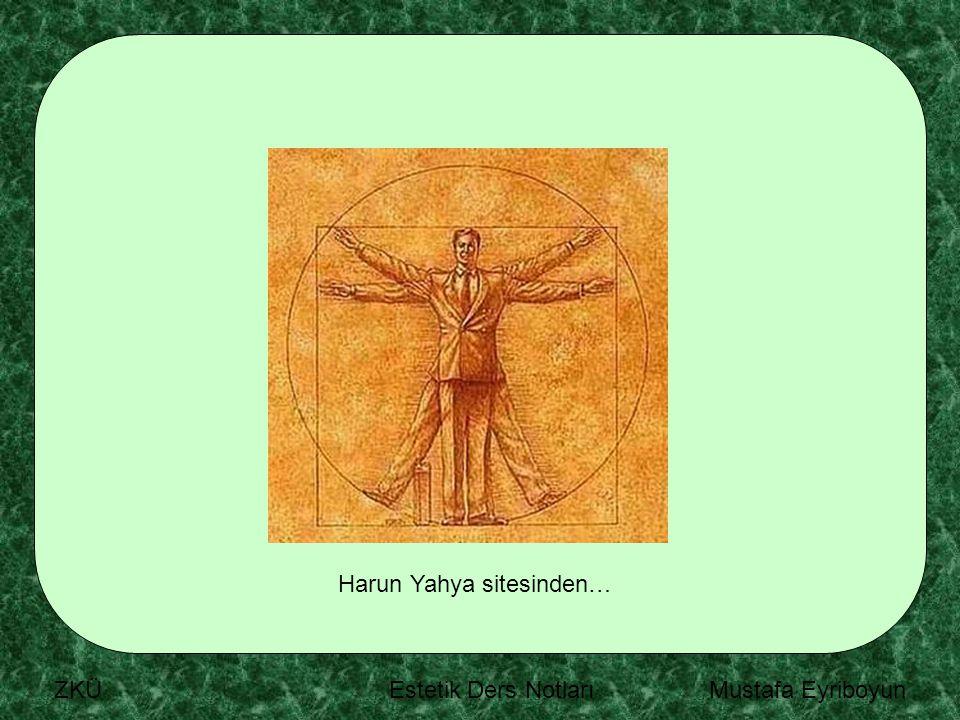 Harun Yahya sitesinden…