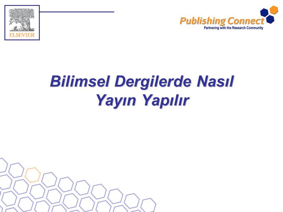 Bilimsel Dergilerde Nasıl Yayın Yapılır