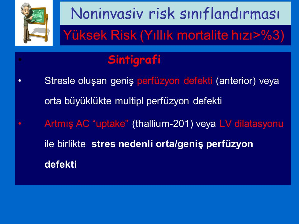 Noninvasiv risk sınıflandırması