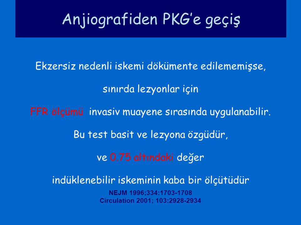 Anjiografiden PKG'e geçiş