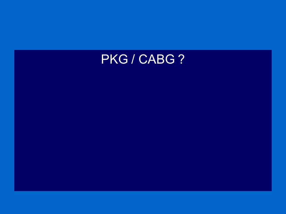 PKG / CABG