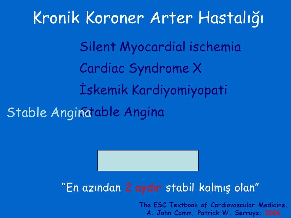 Kronik Koroner Arter Hastalığı