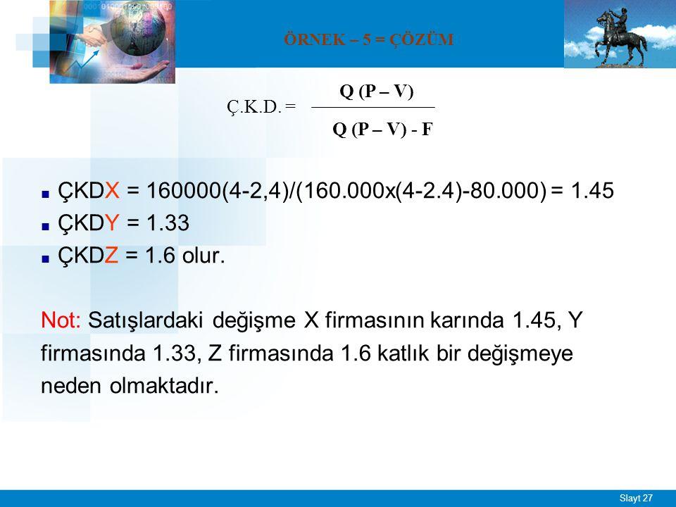 ÖRNEK – 6