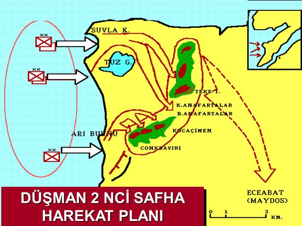 DÜŞMAN 2 NCİ SAFHA HAREKAT PLANI