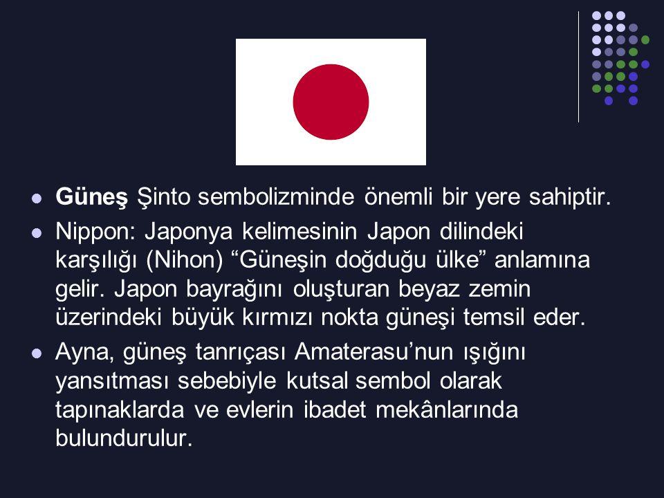 Güneş Şinto sembolizminde önemli bir yere sahiptir.