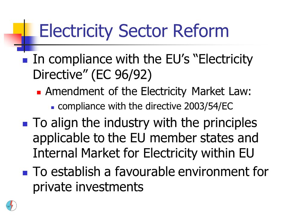 Electricity Sector Reform