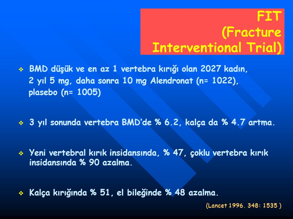 FIT (Fracture Interventional Trial)
