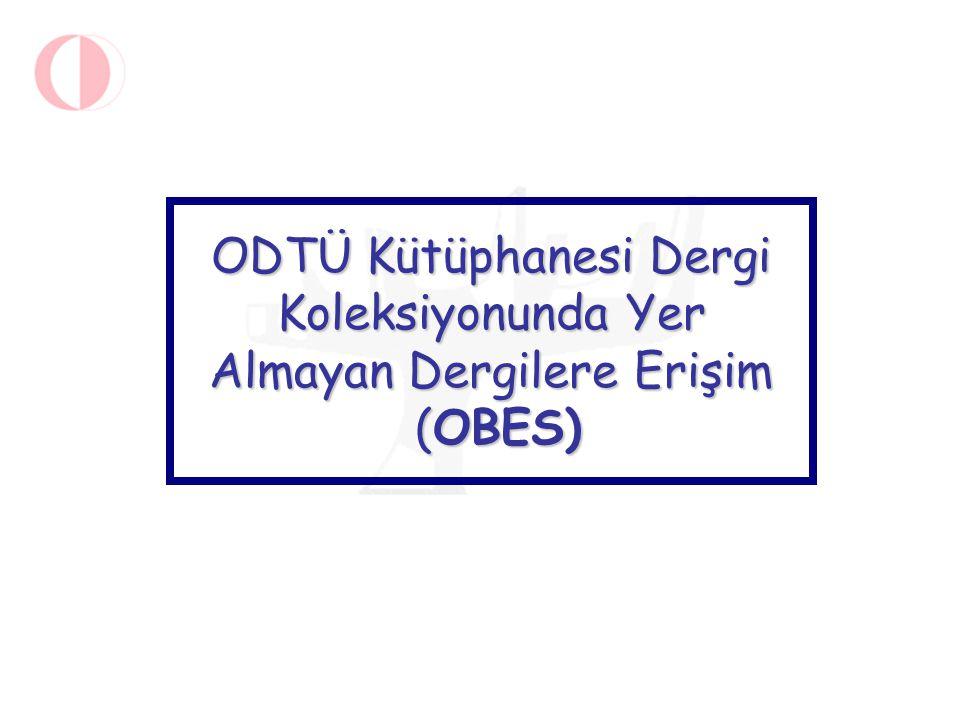 OBES Kataloğu